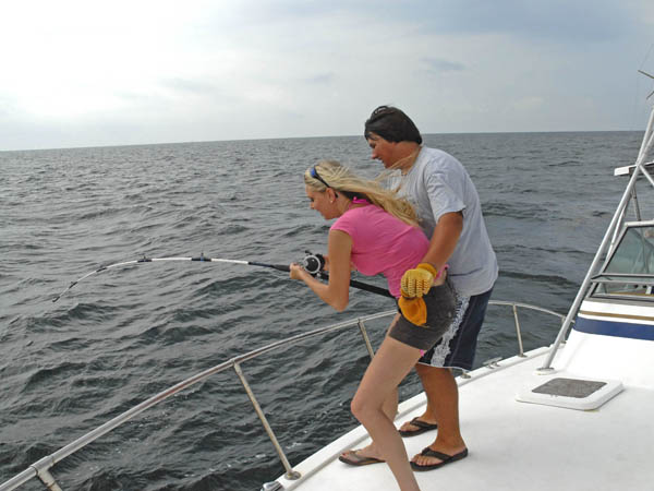 Summer fishing off mississippi s gulf coast for Gulf coast fishing report