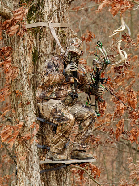how to use a treestand motorcycle stand