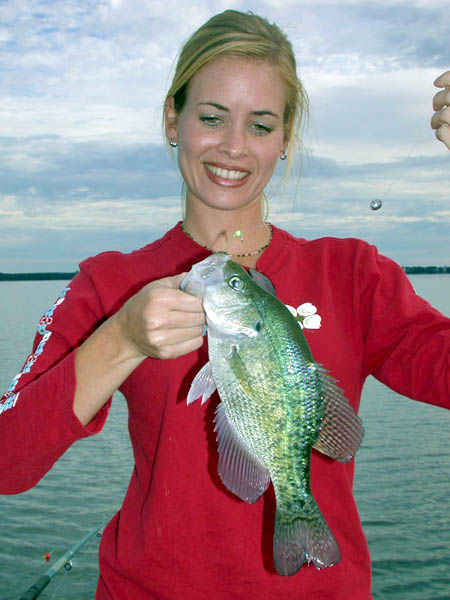 Don t bank on bank bound crappie in the spring for Crappie fishing secrets