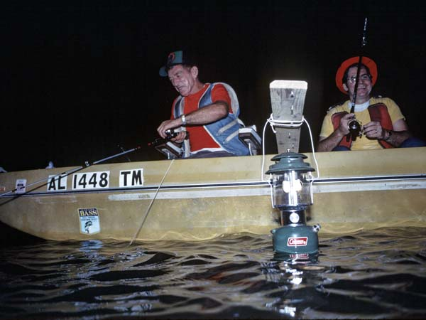fish black nights to catch white crappie this summer, Reel Combo