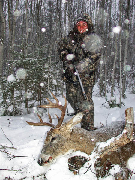 Hunting Cold Weather Buck Deer with a Bow