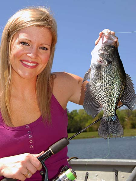 Strategies to catch february bass and crappie for Fishing forecast alabama