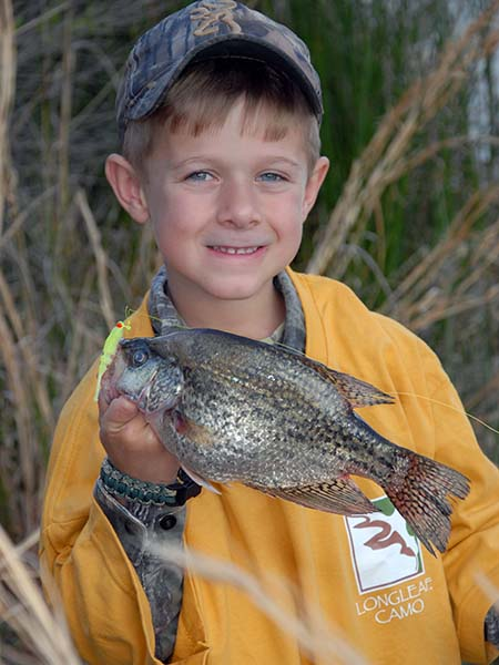 Catching Crappie: No Boat, No Problem