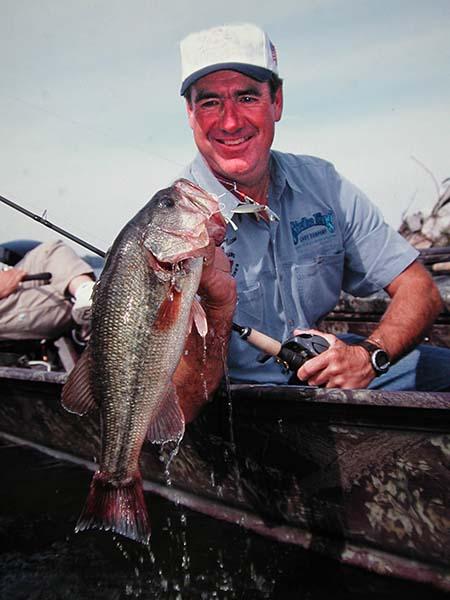 secrets of longtime bass fishing pro larry nixon