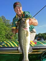 Professional bass fishermen name their best five bass baits for Tim horton fishing
