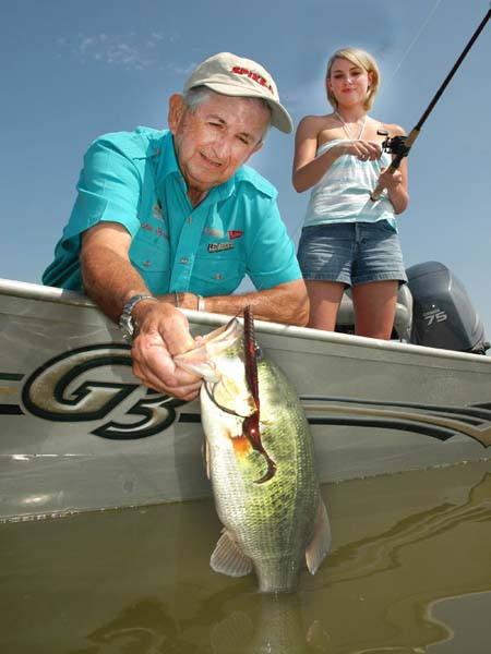 America s best soft plastic bass fishing baits for Good day for fishing