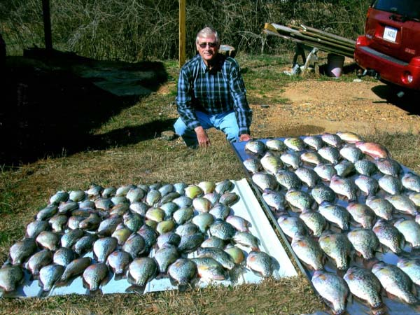 How to catch river crappie with david spain for Crappie fishing in alabama