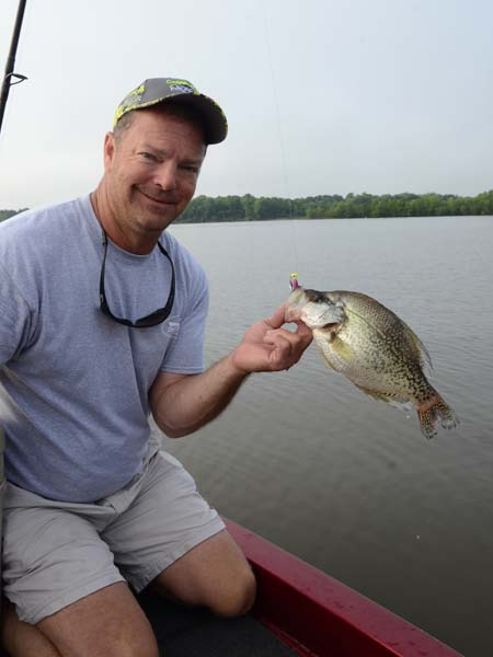 Catching summertime river crappie for Crappie fishing in alabama