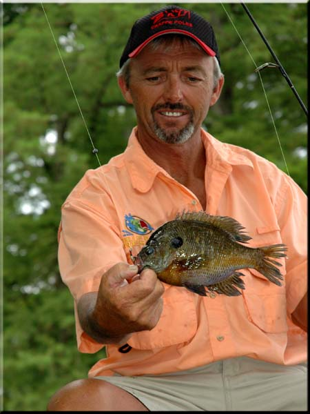 Billy Blakely Catches All Kinds of Fish at Blue Bank Resort on